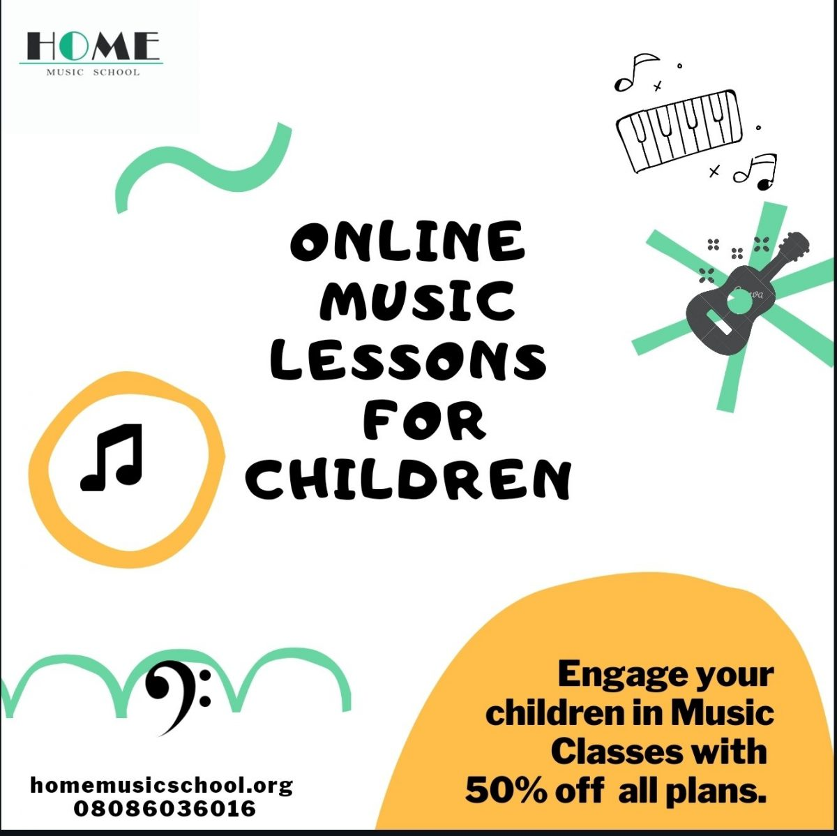 Commencement of Online Music Classes.