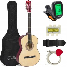"38"" Beginner Acoustic Guitar Starter Kit"